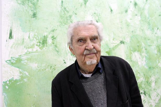 Der Künstler Alfred Lichter.