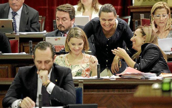 PP-Abgeordneten im Balearen-Parlament.