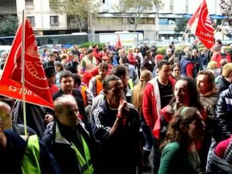 Generalstreik im Zentrum von Palma, 14.11.2012