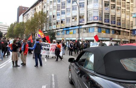 Generalstreik auf Mallorca, 14. November 2012