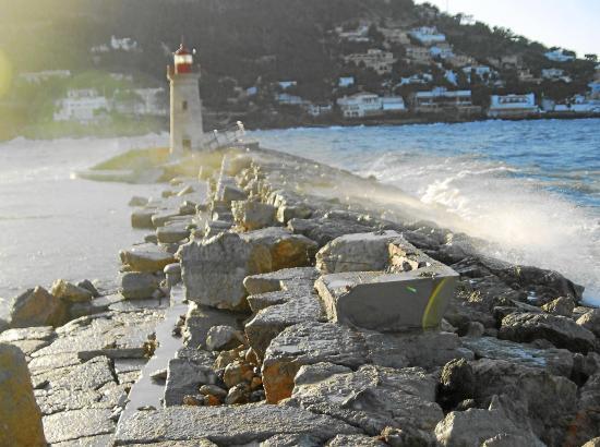 Der Leuchtturm von Port d'Andratx.