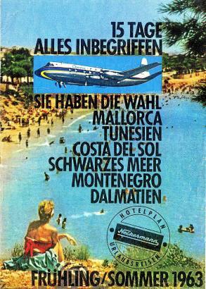 50 Jahre Neckermann: 1962 erstmals Reisekatalog in Versandhauskatalgo