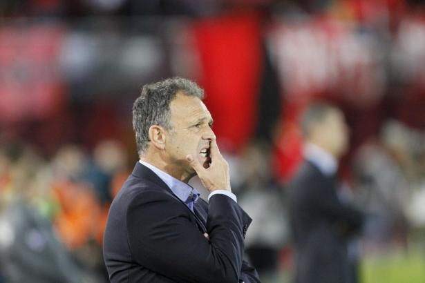 Mallorcas Trainer Joaquín Caparrós ist ratlos.