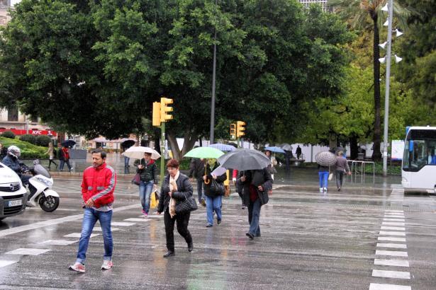 Palmas Plaça d'Espanya am Dienstag.