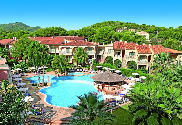 Das Hotel Lago Playa Park in Cala Rajada wird derzeit umgestaltet.