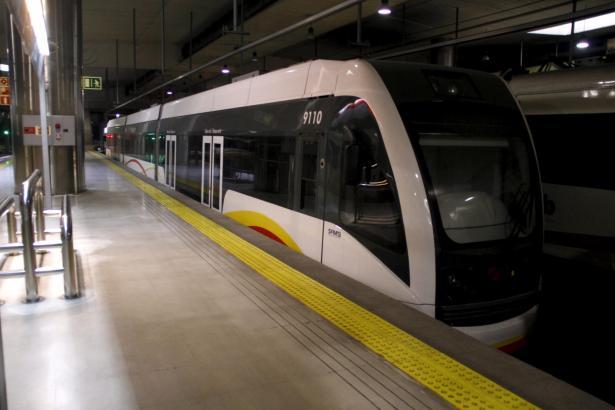 25 statt 35 Minuten soll die Bahn von Inca nach Palma brauchen.