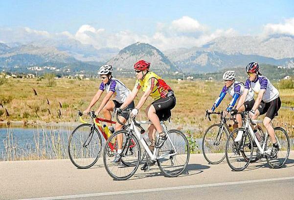 PALMA. CICLOTURISMO. Unos 70.000  cicloturistas  llegan cada año a Mallorca.