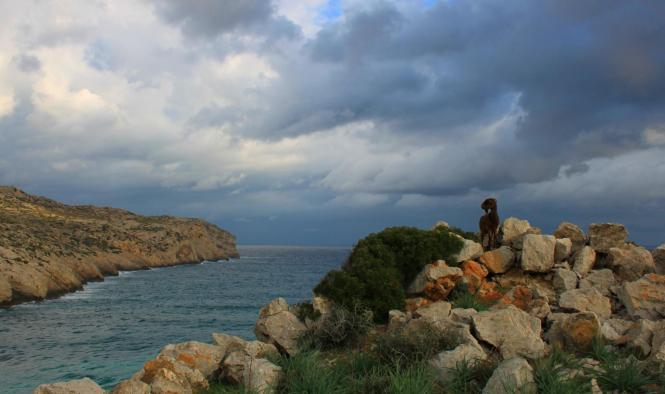Durchzug von Wolkenfeldern auf Mallorca.