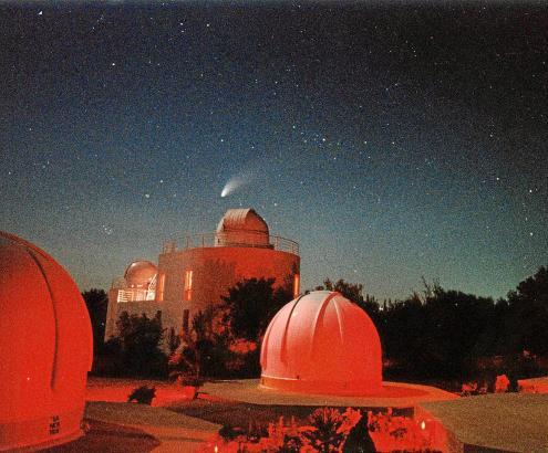 Astronomen in der Sternwarte von Costitx haben den Asteroiden 2012 DA14 am 22. Februar 2012 zuerst gesehen.