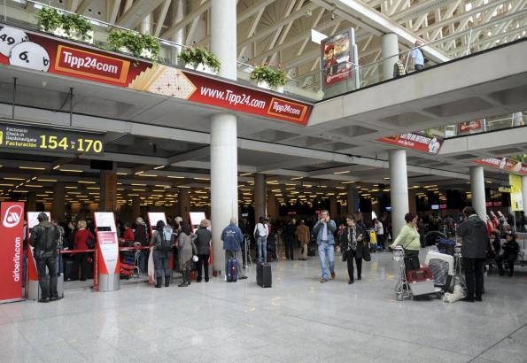 Am Flughafen Son Sant Joan tut sich einiges.