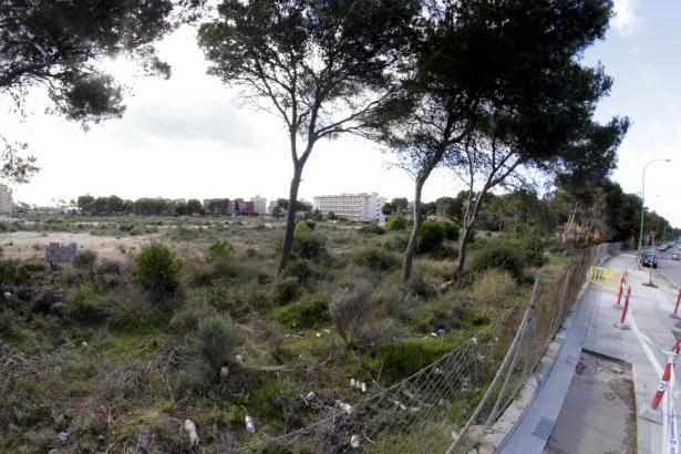 Auf diesem Gelände soll das neue Luxushotel an der Playa entstehen.