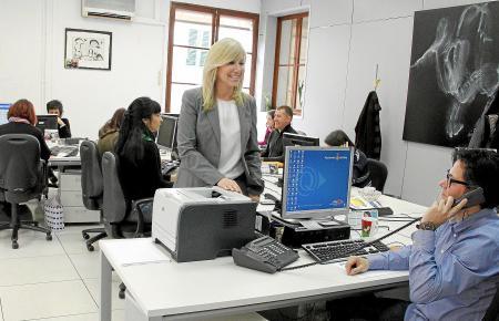 Bürger-Hotline im Rathaus von Palma.