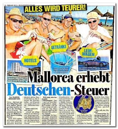 """Der Artikel der """"Bild""""-Zeitung vom Freitag vergangener Woche: """"Alles wird teurer!"""""""