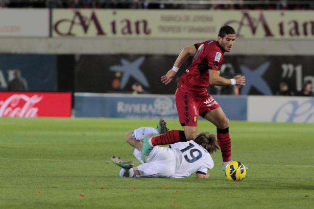 Tomer Hemed (hier in einem früheren Spiel) erzielte gegen Granada den Siegtreffer.