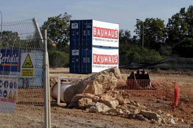 Die Bauarbeiten an der Niederlassungen sind weit fortgeschritten.