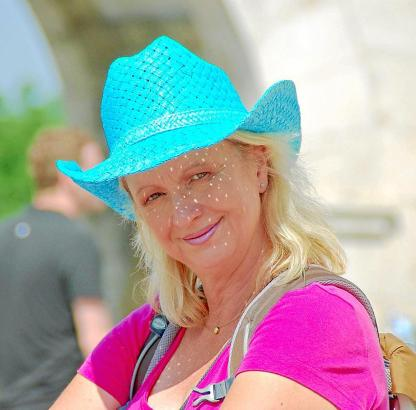 Journalistin, Buchautorin, Tagesmutter - und Mallorca-Fan: Ulrike Marrach-Böhm.