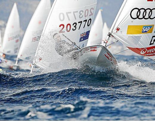 Philipp Buhl siegte in der Laser-Klasse.