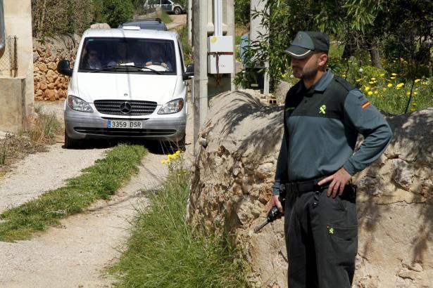 Die Polizei sicherte den Tatort ab.