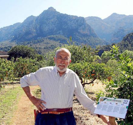Joan Puigserver hat auf seinem Grundstück 40 informative Schautafeln platziert.