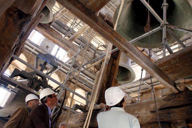 Fünf Glocken der Kathedrale von Palma de Mallorca werden zur Restauration nach Deutschland gebracht werden.