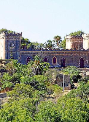 Mit diesem Standort hat sich das deutsche Unternehmen Merkur um die Kasino-Lizenz beworben: Schloss Bendinat.