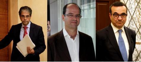 Nicht mehr dabei: Rafael Bosch, Simón Gornés und Josep Ignasi Aguiló (v.l).
