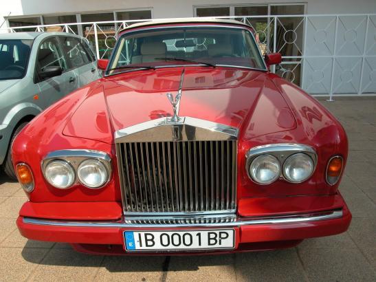 Autoverleiher Hasso sorgte unter anderem mit der Vermietung von Rolls-Rocyce-Limousinen auf sich aufmerksam.