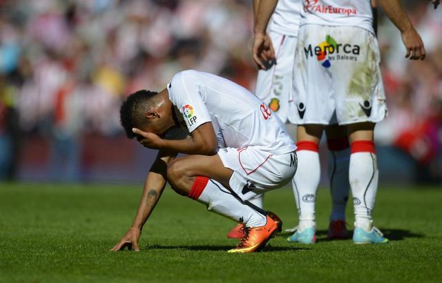 Am Abgrund: Real Mallorca schaffte in Madrid nur ein 0:0.