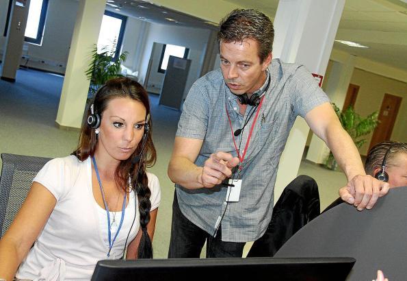 Michael Heinemann ist seit April Leiter der Ausbilderteams im Callcenter CCES24 in Palmas Gewerbegebiet Son Castelló.