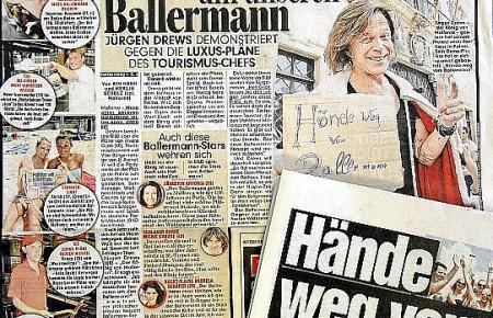Mallorca schmückte in diesen Tagen mehrfach die Titelseite der Bild-Zeitung.