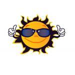 Die Sonne: Symbol für den verstorbenen Nacho.