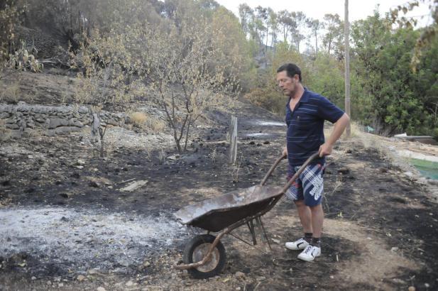 Ignacio Gómez, der in Andratx den Waldbrand auslöste, wurde mittlerweile von der Polizei festgenommen.