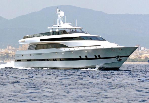 """Die Yacht """"Fortuna"""" soll so schnell wie möglich verkauft werden."""