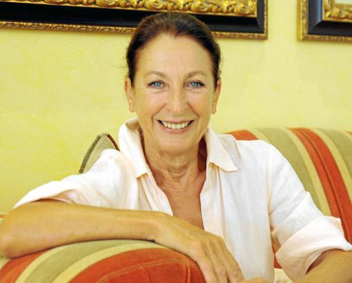 Bekanntes TV-Gesicht, aber auch als Sängerin und Musical-Darstellerin sehr erfolgreich: Schauspielerin Daniela Ziegler beim MM-G