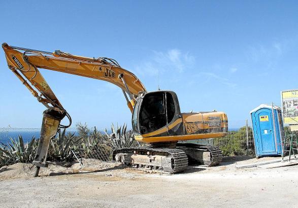 Auf dieser Baustelle in Montport wurde bis vor Kurzem noch geräuschvoll gearbeitet.