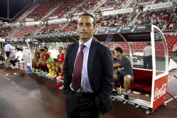 Mallorca-Trainer José Luis Oltra wirkte beim 2:4 gegen Murcia ziemlich ratlos.