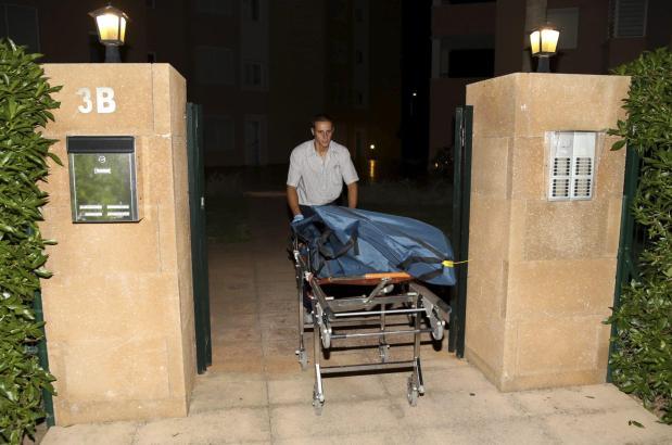 Der Leichnam des überfallenen Deutschen wird zur Gerichtsmedizin nach Palma gebracht.