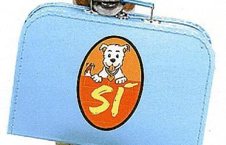 Wo dieses Zeichen zu sehen ist, sind Hunde willkommen, zum Beispiel in einem Dutzend Taxis in Palma.