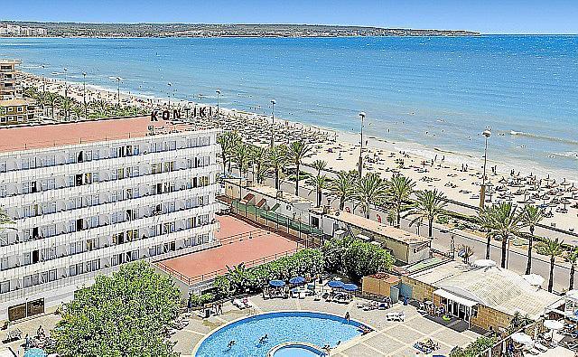 Jüngster Alltours-Neuzugang auf Mallorca: Das Kontiki an der Playa de Palma.