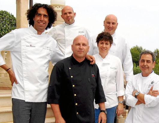 Sieben Spitzenköche treten gemeinsam zum  Großen Gourmet Preis an.