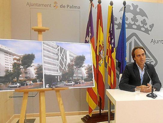 Der Direktor des Konsortiums zur Sanierung der Playa de Palma, Tourismus-Dezernent Gijón, informierte zum Sachstand.