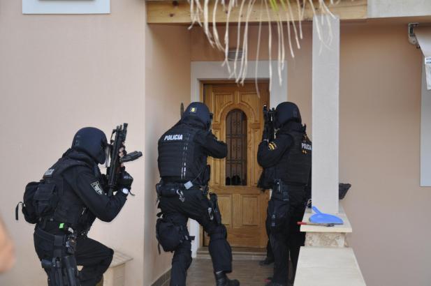 Polizeieinsatz gegen die Hells Angels Ende Juli auf Mallorca.