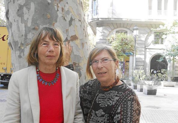Die Autorinnen Gerda Buchberger (l.) und Eva-Maria Rapp.