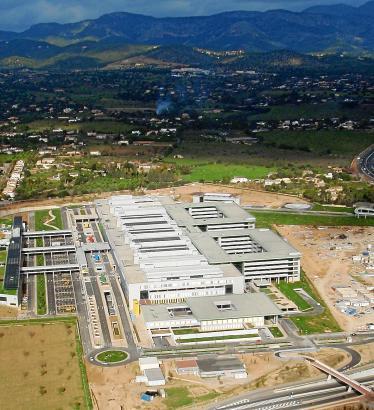 Luftaufnahme des Universitätskrankenhauses Son Espases.