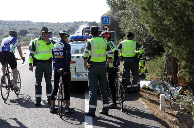 Der Unfall ereignete sich auf der Landstraße zum Cap Blanc.