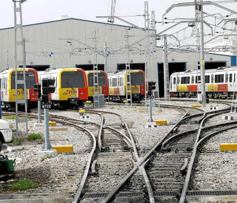 Mallorcas Eisenbahngesellschaft befördert jährlich rund 5,5 Millionen Passagiere.