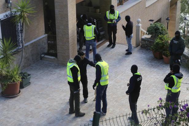 Bei der Polizeiaktion vergangene Woche waren eigens Spezialkräfte aus Madrid nach Peguera gekommen.