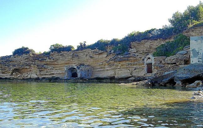 """Escars"" in Ca los Camps, einer idyllischen Bucht bei Colònia de Sant Pere."