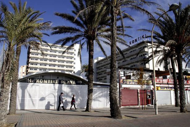 Das Kontiki Playa wird bis zur kommenden Saison komplett saniert.