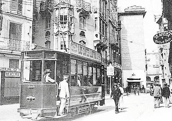 1916 wurde in Palma die elektrische Straßenbahn in Betrieb genommen.